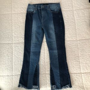 Two toned Forever 21 jeans, size S